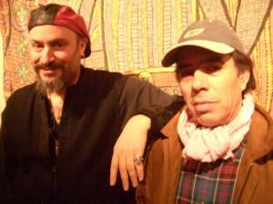 Bachir and John (photo by John Kruth)