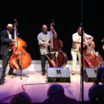 Christian McBride, Lee Smith and Howard Cooper on bass