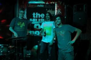 Photo by Clara Aich (Sohrab, Lautaro and Greg)