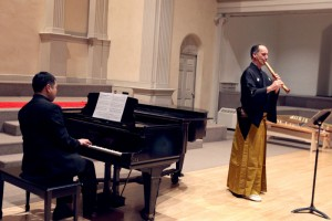 Concert at St Mark's church in NYC