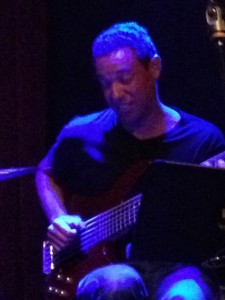 Kevin Farrell on bass