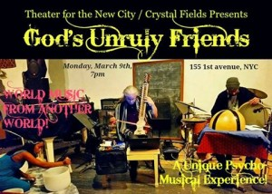 God's Unruly Friends poster