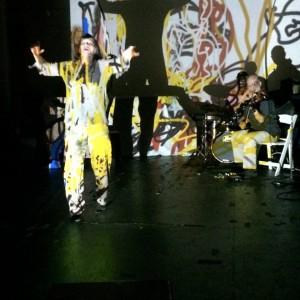 Patricia Nicholson Parker's Powerhouse Resurrection/Revolution Ensemble (photo by John Pietaro)
