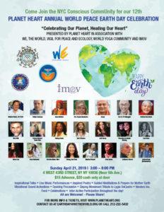 World Peace Earth Day Celebration & Benefit 2019 @ Social Hall
